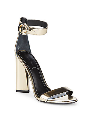 Kendall + Kylie Giselle High Heel Suede Ankle Strap Sandals Golle VyId89i