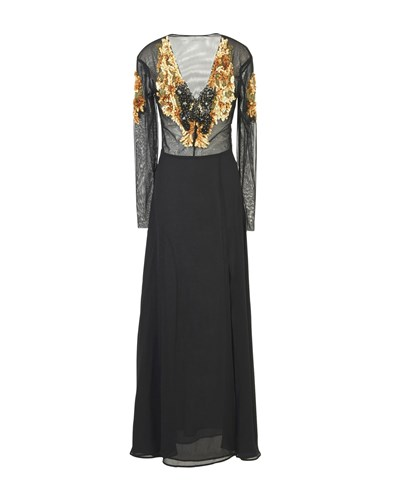 Space Style Concept Long Dresses Black D1vkSnOpp