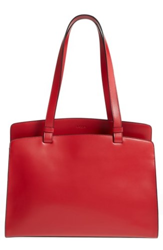 Lodis Jana Work Leather Tote Red Xh6GH