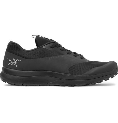 Arc'teryx Norvan Ld Rubber Trimmed Mesh Running Sneakers Black SyvLhb