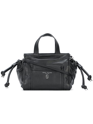 Marc Jacobs Tied Up Tote Bag Leather Black s2HdUZOpnz
