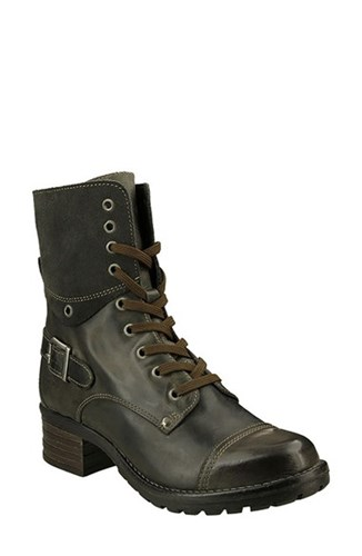 Taos Women's Crave Boot Grey Leather DZU4P5ON