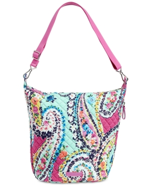 Vera Bradley Carson Medium Hobo Bag Wildflower Paisley Nmwf1B4OB