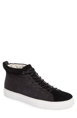 Blackstone Men's Om 56 Sneaker Black Leather ADjJk