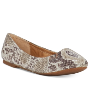 Lucky Brand Emmie Ballet Flats Women's Shoes Natural VCf6GT79y