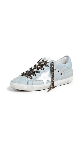 Goose Shiny Baskets Blanc Jeans Superstar Golden 8AqY60UY