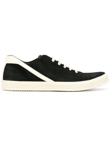 Rick Owens Lace Up Sneakers Black hFgGwbvM0c