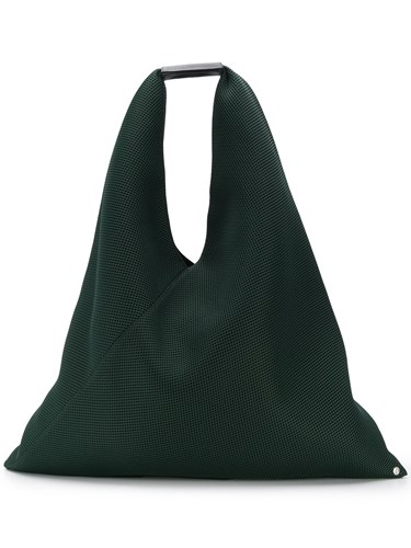Maison Martin Margiela Mm6 Mesh Japanese Tote Bag Green glsnSPF