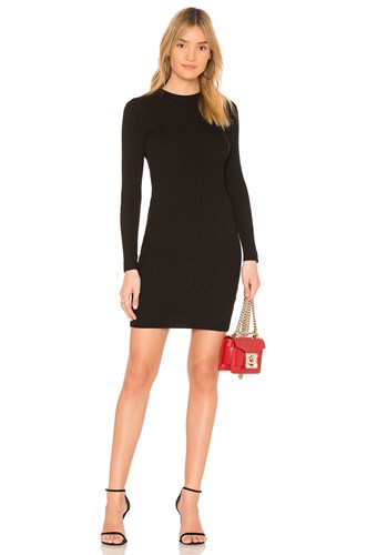 John & Jenn by Line Audrey Sweater Dress Black sgOD9kppWm