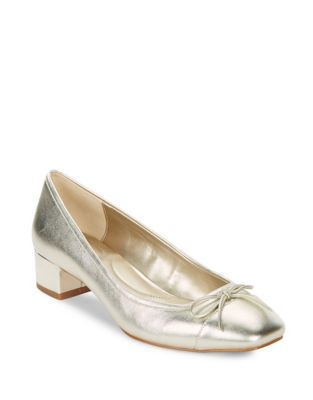 Bandolino Xenica Metallic Dress Pumps Light Gold nrOfKd5L9q