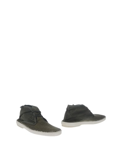 Collection Privée? Ankle Boots Green 0zz2ZtWuO
