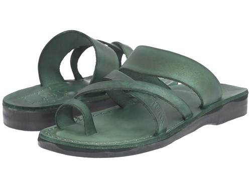 Jerusalem Sandals The Good Shepherd Green Shoes 2ENuXP8