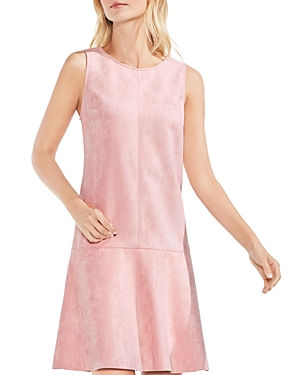 Vince Camuto Faux Suede Dress Wild Rose nrVxj