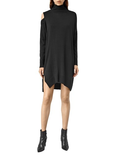 AllSaints Cecily Dress Black HBKEOW93N