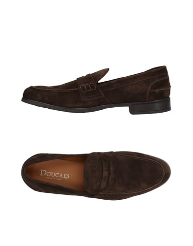 Doucal's Loafers Dark Brown 4c85J