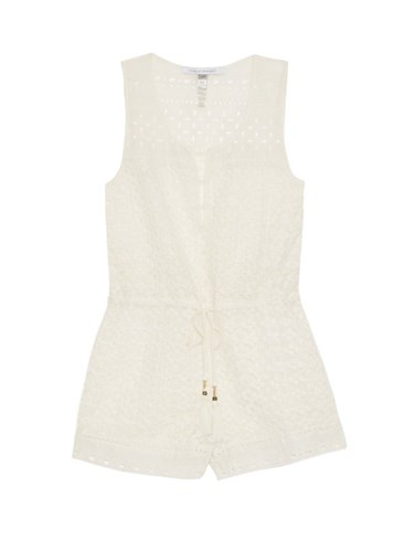 Hamptons Playsuit White