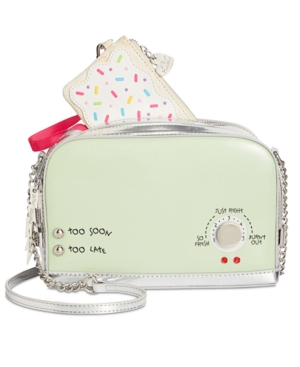 Betsey Johnson A Toast To You Small Crossbody Mint nRtrCQ