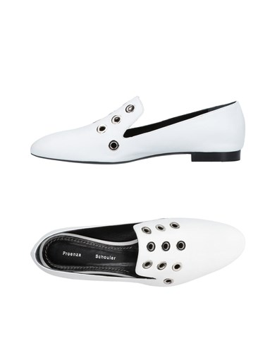 Proenza Schouler Loafers White XCAhK