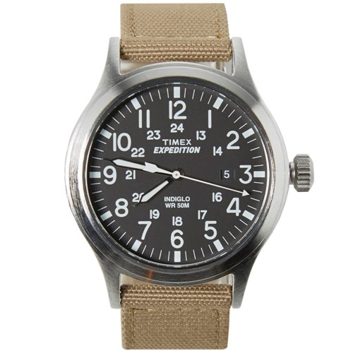 Expedition Scout Watch Black And Tan