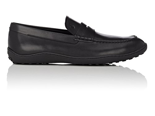 Tod's Leather Penny Loafers Black iVy1b