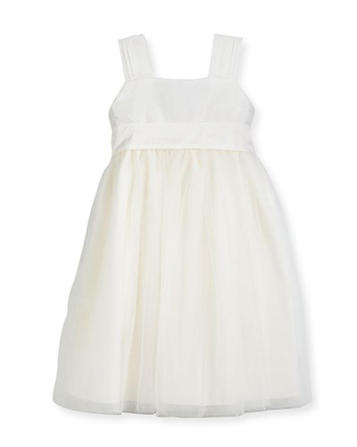 Isabel Garreton Venice Pleated Straps V Back Dress Ivory Size 2 3 zJTlSR3r3d