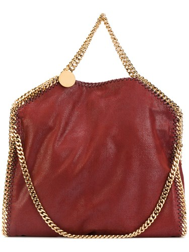 Stella McCartney Falabella Tote Women Artificial Leather Metal One Size Red l03gO1j62T