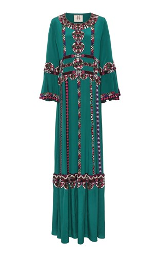 Figue Tabitha Gown Green 3dF6PzQF