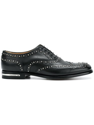 Church's Burwood Shoes Black jnYOO