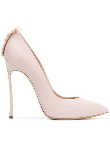 Casadei Lace Trim Blade Pumps Nude And Neutrals mqwqgv