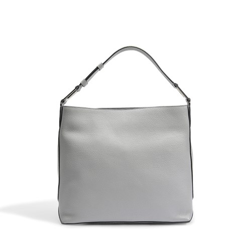 Lancel Max S Hobo Bag In Lichen Grained Leather IPmXq0wWGL