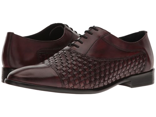 Messico Nereo Burgundy Leather Shoes Wi2KZMD1