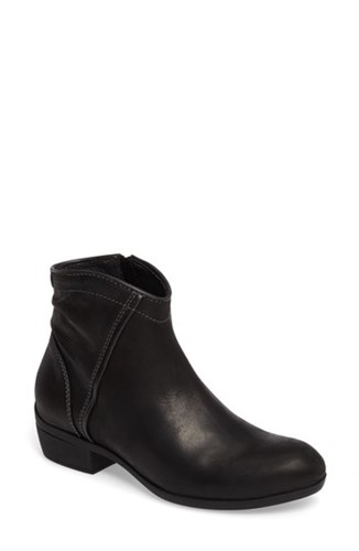Wolky Women's Winchester Bootie Black Leather byL7Ag