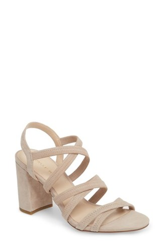 Pelle Grace Moda Sandal Leather Nubuck Mushroom rwOrCqRxY