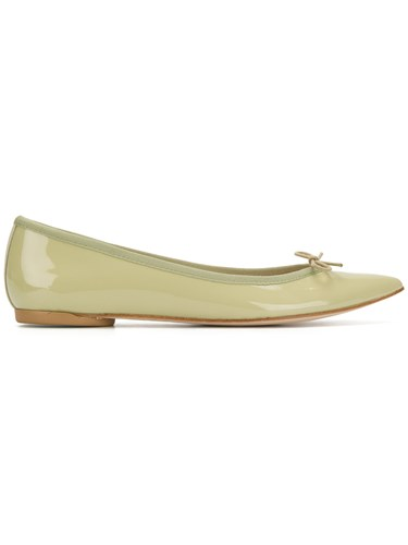 Repetto Pointed Toe Ballerinas Green LWeLfQ