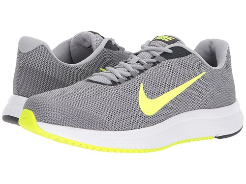 Nike Runallday Wolf Grey Volt Anthracite Cool Grey Running Shoes Gray Ro2l9Vnk