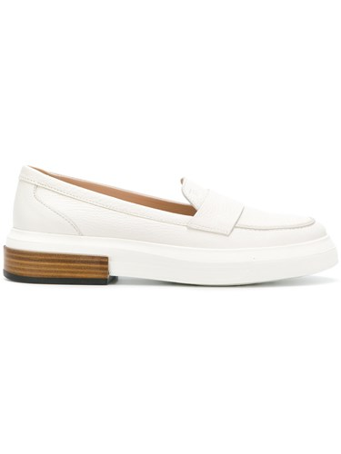 Tod's Flatform Penny Loafers White fwefV