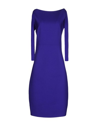 DSquared Dsquared2 Knee Length Dresses Purple PGBe8H