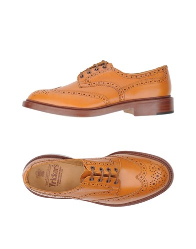 Up Tan Tricker's Shoes Lace Up Shoes Tricker's Lace Tan Up Tricker's Shoes Tan Lace TwOwFx0f