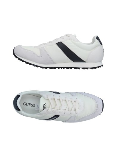 GUESS GUESS Ivory Ivory Sneakers Sneakers GUESS Ivory Sneakers rrqxPw