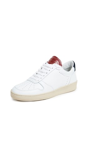 Up Red Navy Lace Sneakers White Zespà Uq5ZF