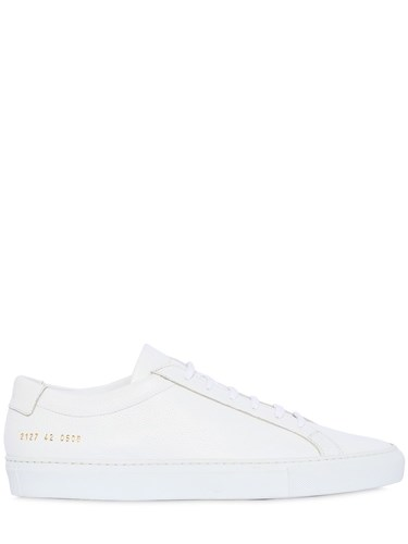 Common Projects Original Achilles Leather Sneakers White Z5LwpLDP