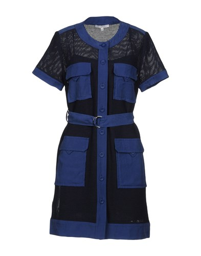 Rebecca Minkoff Short Dresses Dark Blue d7IGQVl