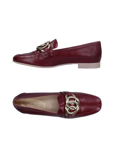 Tod's Loafers Maroon WePSB