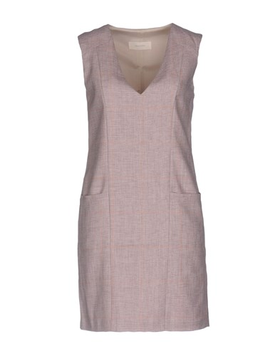 Mauro Grifoni Short Dresses Light Pink kdG77a58M
