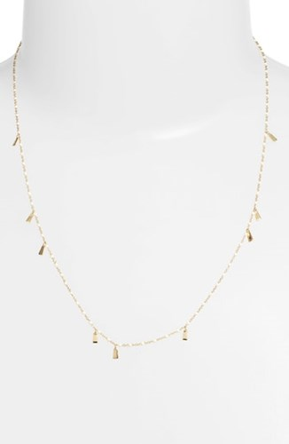 Argento Vivo Enamel Station Necklace Gold