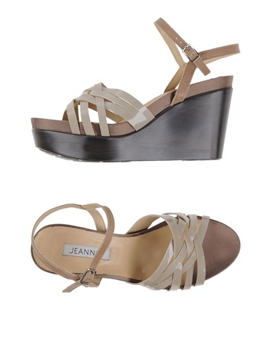 Jeannot Sandals Beige uqFzG3ny3O