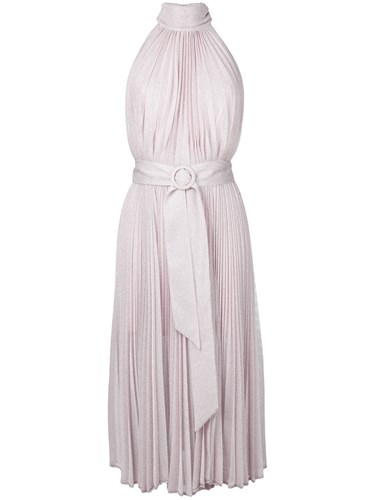 Dress Pleated Belt Hohan Unavailable Lucia Maria wFqTHag