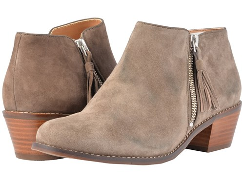 Vionic Serena Greige Boots Brown d0CYty24Jl