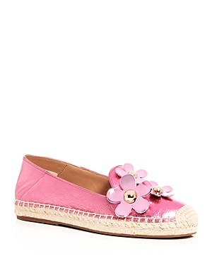Marc Jacobs Women's Leather Daisy Espadrille Flats Pink A4o8PqMocG