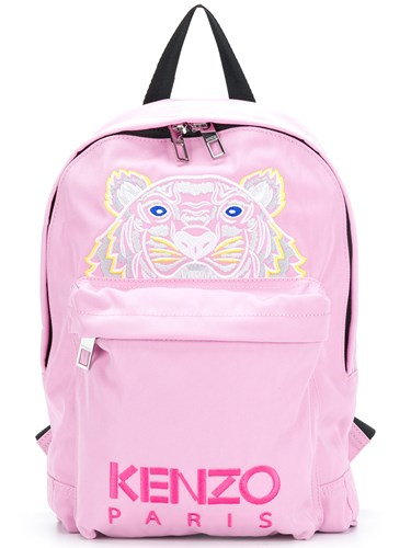 Kenzo Tiger Backpack Pink And Purple agZIfOx